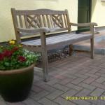 Rund ums Haus - Sitzbank 2012