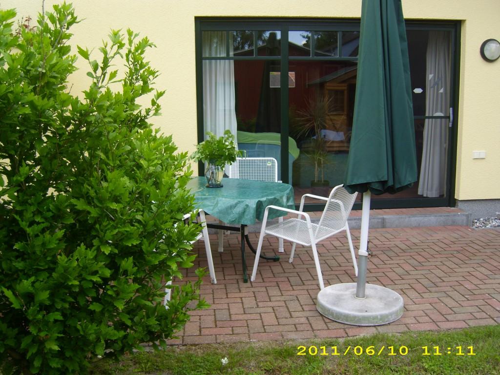 Terrasse 2012 Ferienhaus Nordstern