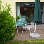 Rund ums Haus - Terrasse Sitzecke 2012